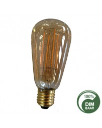 LED filament Edisonamp 4W E27 2200k