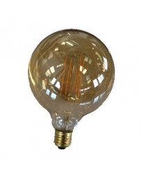 Globe ledlamp 125mm 4W E27 2200K