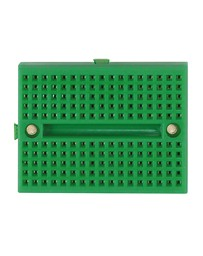 2 mini breadboards groen