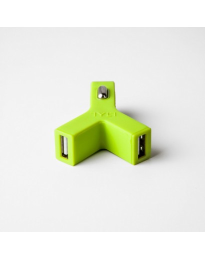 TYLT charger green