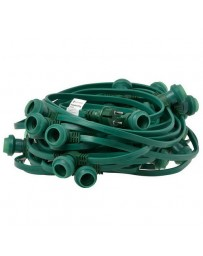 PRIKKABEL 20 METER+35 FITTING GROEN