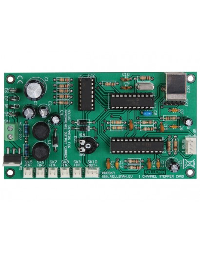 K8096 1 CHANNEL STEPPERMOTOR CARD